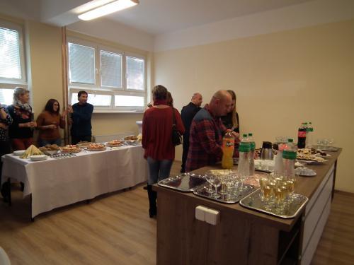 Móra Ferenc Alapiskola szaktantermének, agyakorló konyhának az átadása