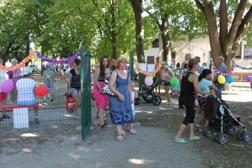 Játszótér átadás / Nové detské ihrisko